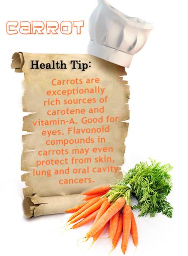 Carrot_Health_tip